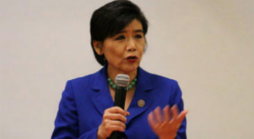 Judy Chu speaking at an event